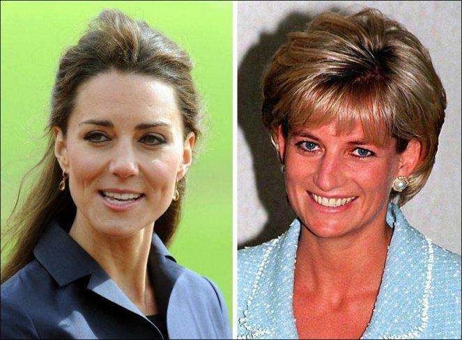 PENE NOK: Englands kommende dronning Kate Middleton og nå avdøde prinsesse Diana av Wales, ble kåret til penest av de kongelige på en avstemning på Beautifulpeople.com. Nå sier nettstedet at de har kastet 30.000 som de mener ikke er like pene som disse to, ut. Foto: Pa Photos