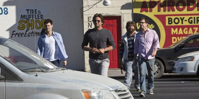 Bradley+Cooper,+Justin+Bartha,+Zach+Galifianakis+og+Ed+Helms+i+The+Hangover+Part+III