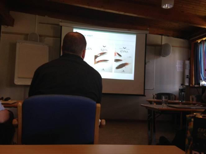 Fra et SAMBA- møte. SAMBA står for samarbeidsgruppe for barne- og ungdomsbibliotekararbeid i Akershus.